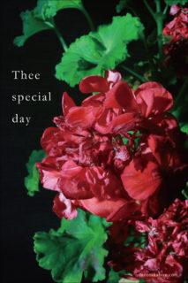 嬉しくもないような「特別な日」
